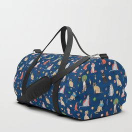 Cat Queens (Blue) Duffle Bag