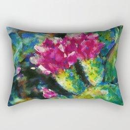 Desert Blooms by Kathy Morton Stanion Rectangular Pillow