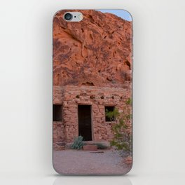 CCC Cabins-1, Valley of Fire State Park, Nevada iPhone Skin