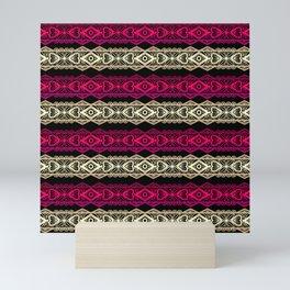 Luxury lace print Mini Art Print