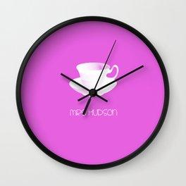 Mrs Hudson Minimalist Poster Wall Clock