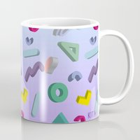 80s Mugs featuring 80s by KITA