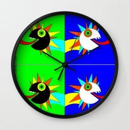 iguanas A Wall Clock