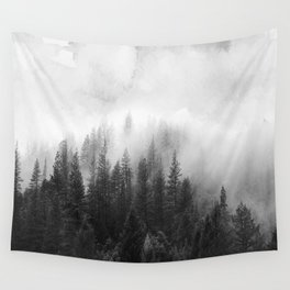 forest Winter Wall Tapestry