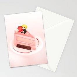 Happy Birthday Kurapika Stationery Cards