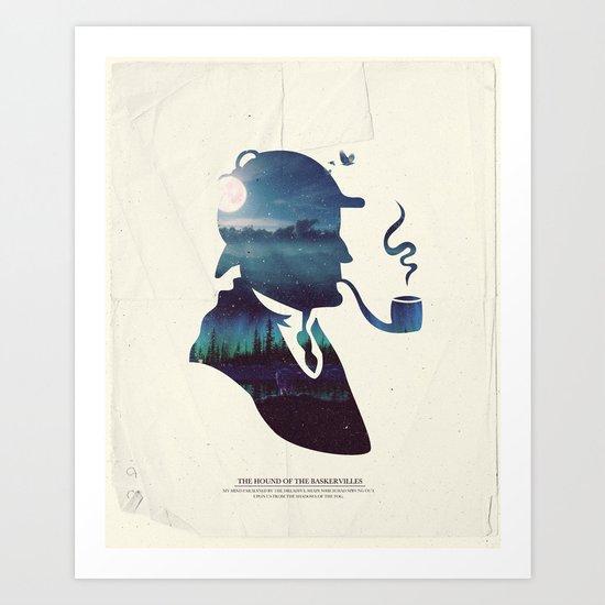 Sherlock - The Hound of the Baskervilles Art Print