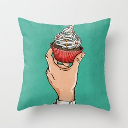 Treat Yourself Throw Pillow