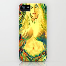 ART  PRINT/NUDE MERMAID LADYKASHMIR MOBILE DEVICE /LAPTOP/I POD / iPhone Case