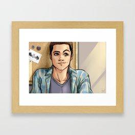Snark Nerdy To Me Framed Art Print