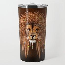 Dreadlock Lion Travel Mug