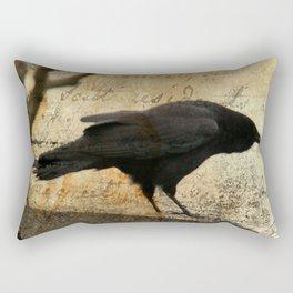 Crow Caws Rectangular Pillow