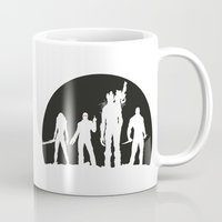 guardians of the galaxy Mugs featuring Guardians of the Galaxy 01 by Colour Mugs