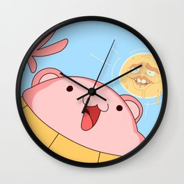 My name is Peepoodo Wall Clock