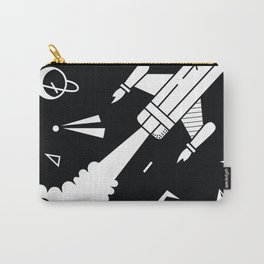 Pencil Rocket Carry-All Pouch