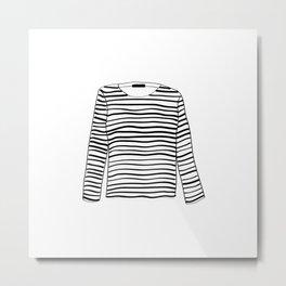 sailor tee Metal Print