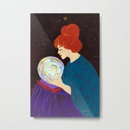 Divination by Mary Bottom Metal Print