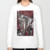 indian Long Sleeve T-shirts featuring Indian by the_continuum