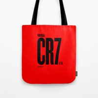 portugal Tote Bags featuring Portugal by Skiller Moves