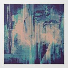 slow glitch Canvas Print