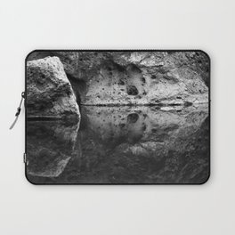 Boulder Reflection on Water Laptop Sleeve