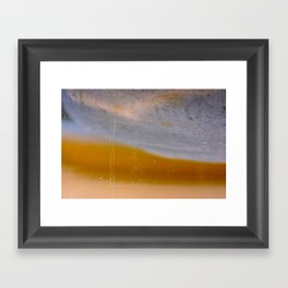 gold cave Framed Art Print