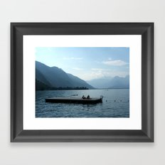 Lac D'Annecy Framed Art Print