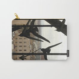 Birds of the City Carry-All Pouch