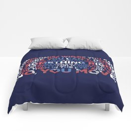 Civil War Quote Comforters