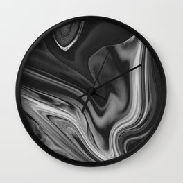 LAVA - BLACK Wall Clock