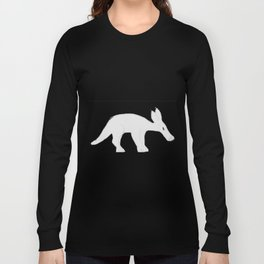 Simple Aardvark Long Sleeve T-shirt