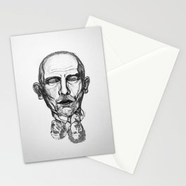 Malkovich in a dream Stationery Cards
