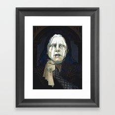 Wormtongue Framed Art Print
