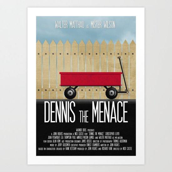 Dennis the Menace Art Print