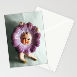 Awful Dancing Flower Dish Person Thing Stationery Cards