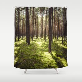 FOREST - Landscape and Nature Photography Shower Curtain