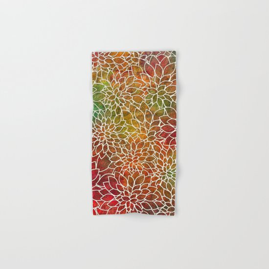 Floral Abstract 15 Hand & Bath Towel