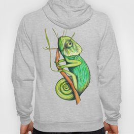 green chameleon (ORIGINAL SOLD). Hoody