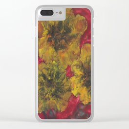 Embracing the Sun Clear iPhone Case