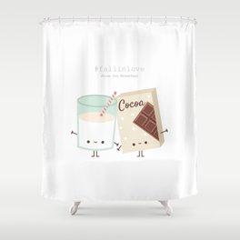 Fall in love - Ingredienti coraggiosi Shower Curtain