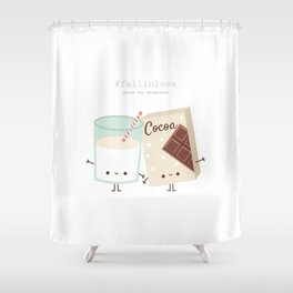Fall in love - Ingredienti coraggiosi Shower Curtain