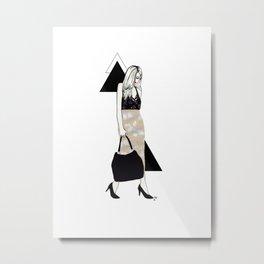 Bunny Skirt Metal Print