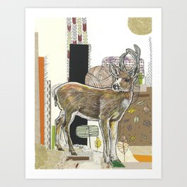As the Deer Art Print