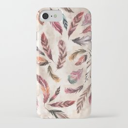 Feather Love iPhone Case