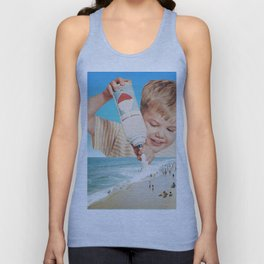 It's the same boy who puts snow on mountaintops Unisex Tank Top