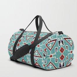 Native American Navajo pattern Duffle Bag