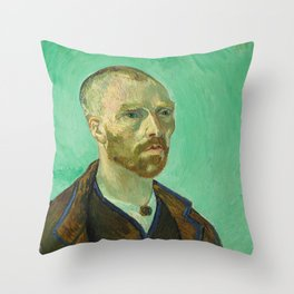 Self Portrait (dedicated to Paul Gauguin) Throw Pillow