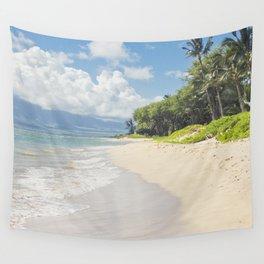 Kawililipoa Beach Kihei Maui Hawaii Wall Tapestry