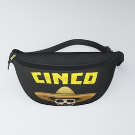 Cinco de Mayo Funny Skull Mexican design for Mexican Lovers Fanny Pack