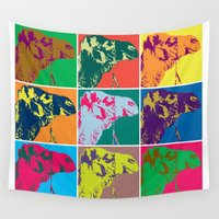 camel Wall Tapestries featuring Camel Soup by Flight of Horace