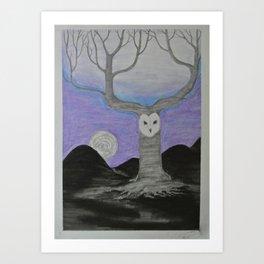 Night's Call Art Print